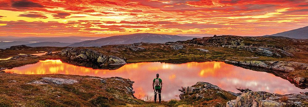 Fjällupplevelser Till Fots I Södra Årefjällen ©Fjällfotografen