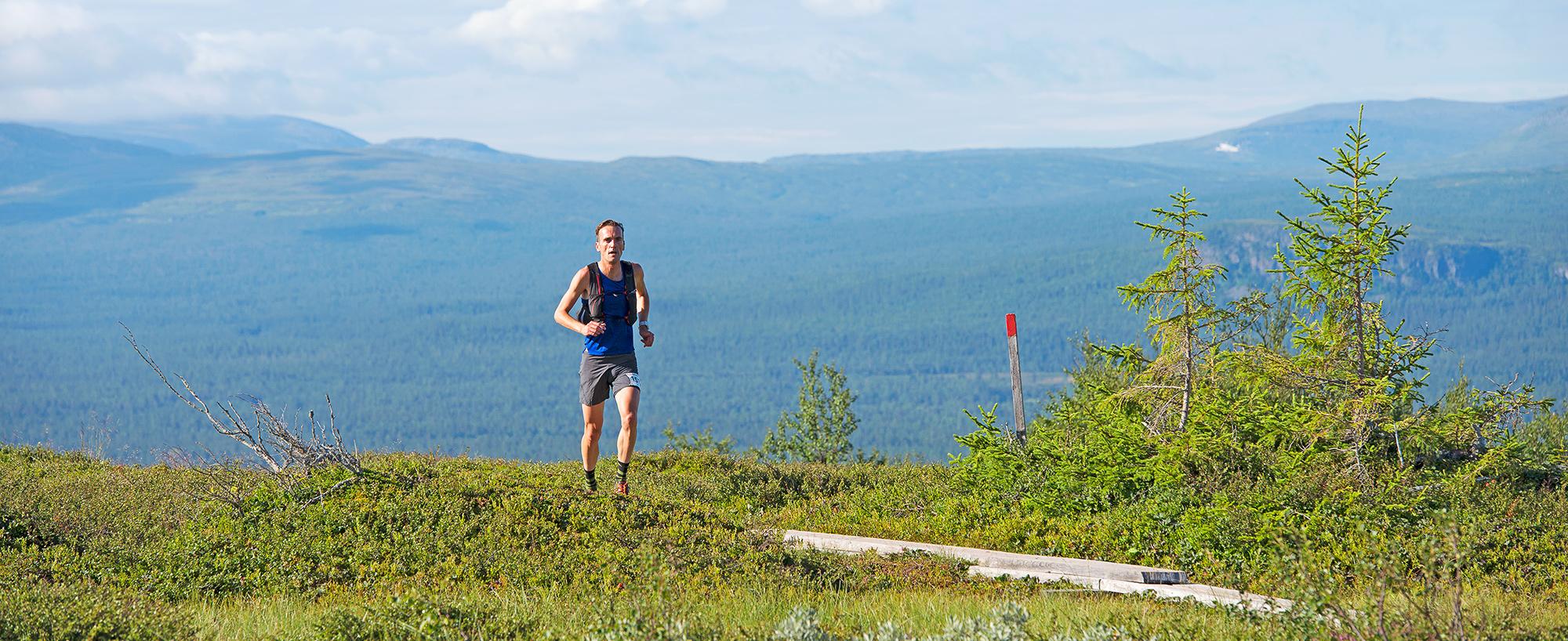 Att Gå Eller Springa – Hela Eller Del Av – Fjällmaratonleden är En Fjällupplevelse I Världsklass I Södra Årefjällen.