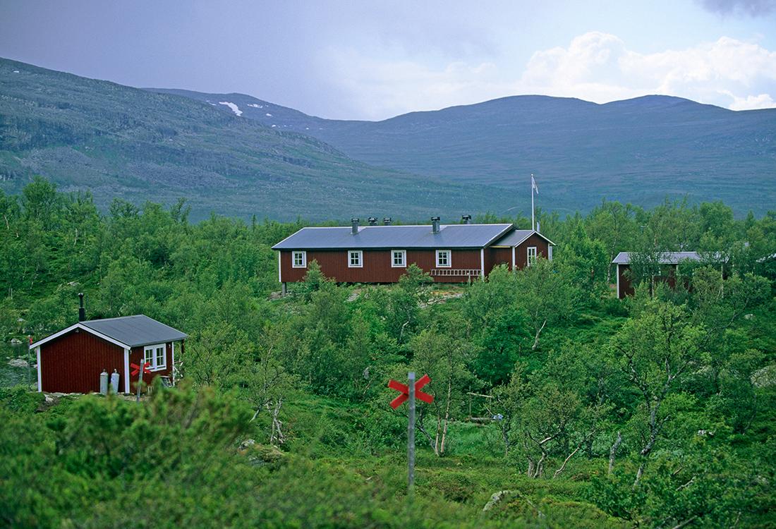 Lunndörrstugan är En Av STFs Stugor Längs Vålådalsfyrkanten. En Fjällupplevelse I Världsklass I Södra Årefjällen.