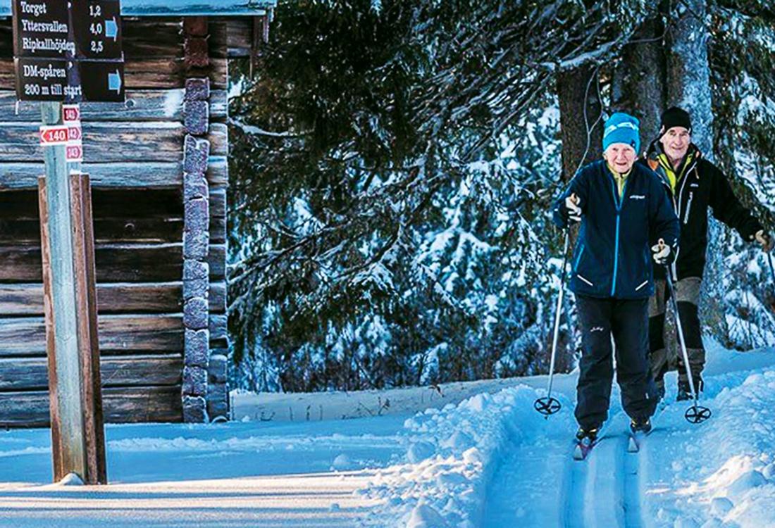 Att Skida Kulturvändan I Trillevallen är En Av Fjällupplevelserna I Världsklass I Södra Årefjällen.